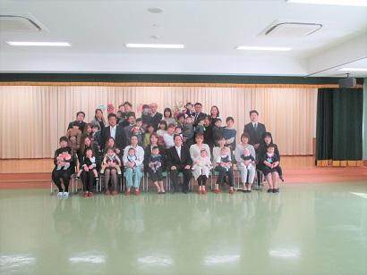 ひがし保育園入園式 ひがし保育園ブログ ひがしKIDSブログ