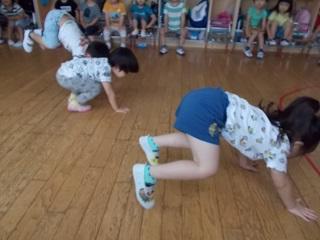 ひがし保育園 リトミック 3歳児