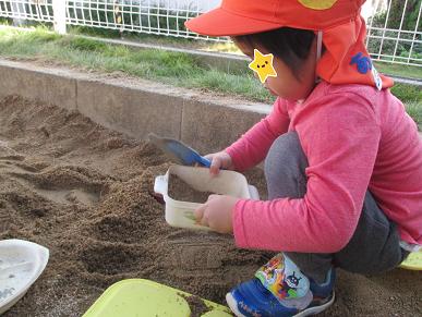 ひがし保育園 ブログ 園庭遊び